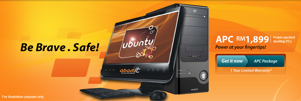 Abadi Power-packed Desktop PCs